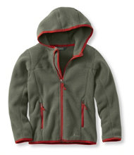 Boys' Trail Model Fleece Jacket, Hooded